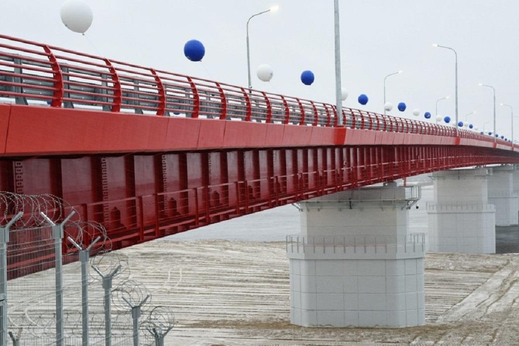 Пуровский мост Ямал