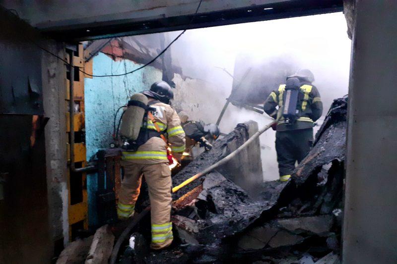 В Челябинске нашли тело второго погибшего на пожаре