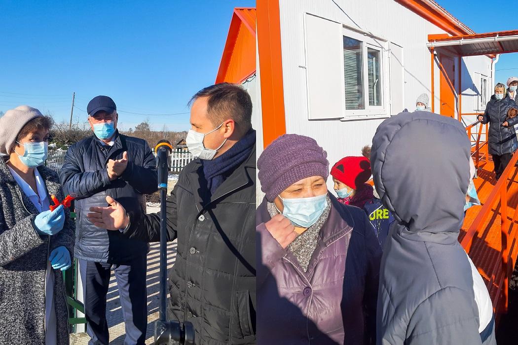 В Нижнетавдинском районе открылся шестой smart-ФАП 1