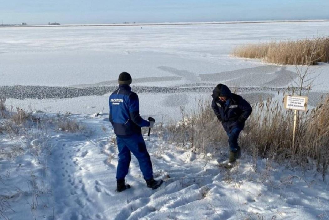 Курганские водоёмы начали покрываться тонким льдом
