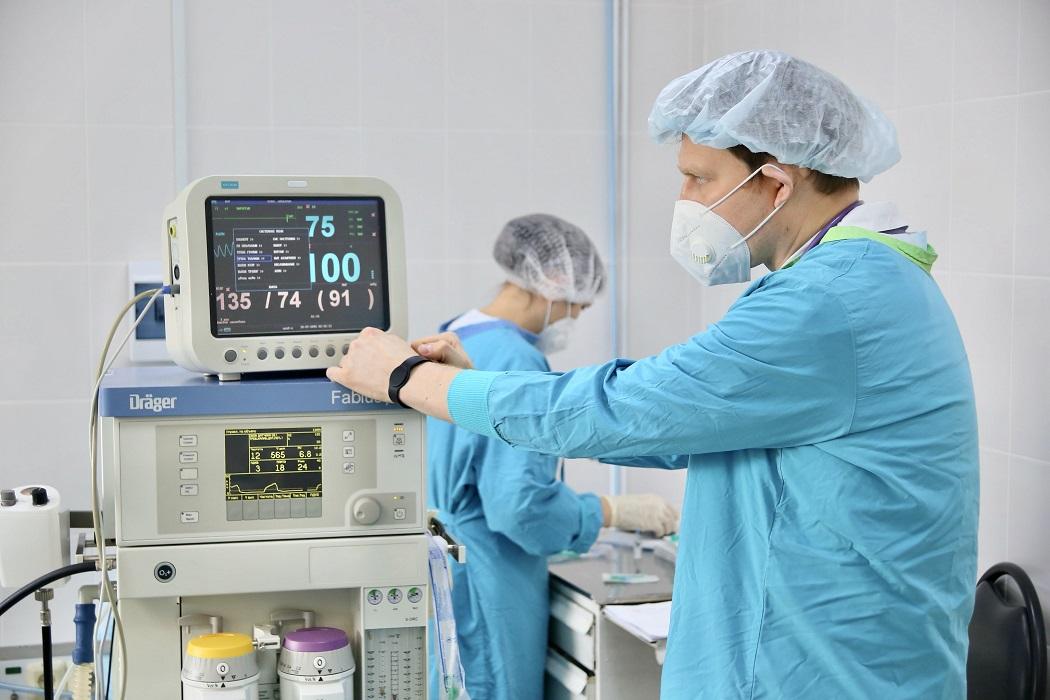 больница операция врачи коронавирус