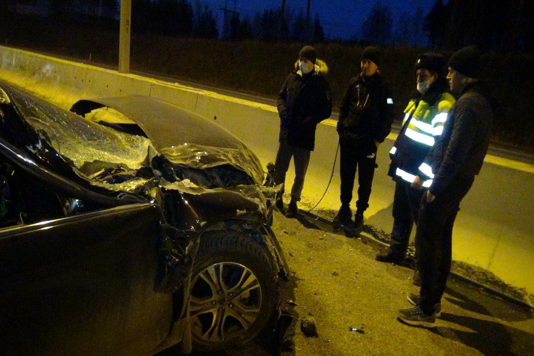 В Екатеринбурге из-за уснувшего водителя в ДТП пострадал ребёнок