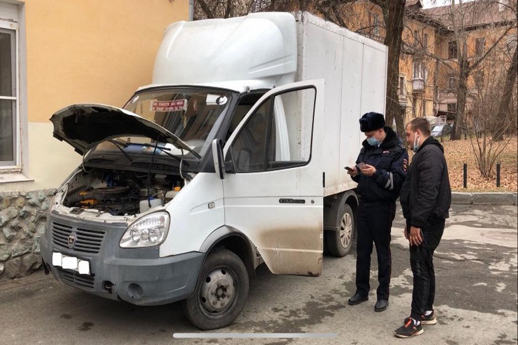 В Екатеринбурге оштрафуют водителя за экстремальную езду около УПИ