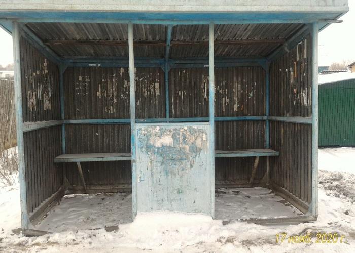 остановка в Шумихе
