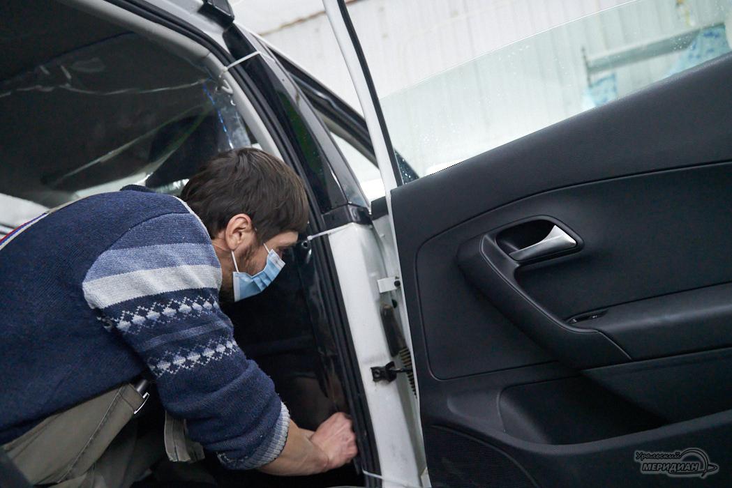 такси установка защитный экран коронавирус