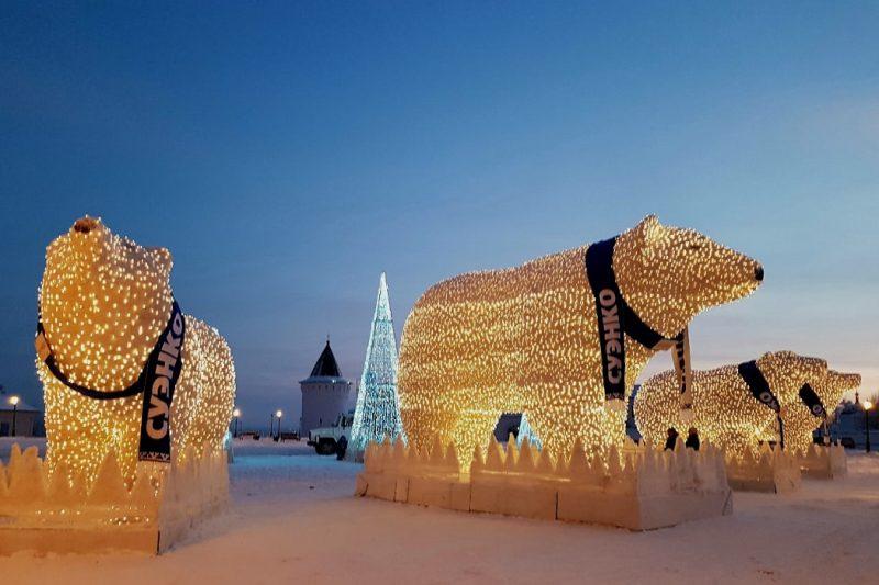 Белые медведи СУЭНКО вернулись в Тобольск
