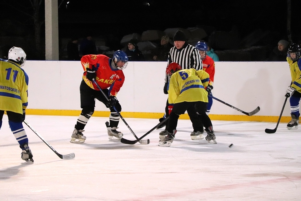 Хоккей + хоккейный корт