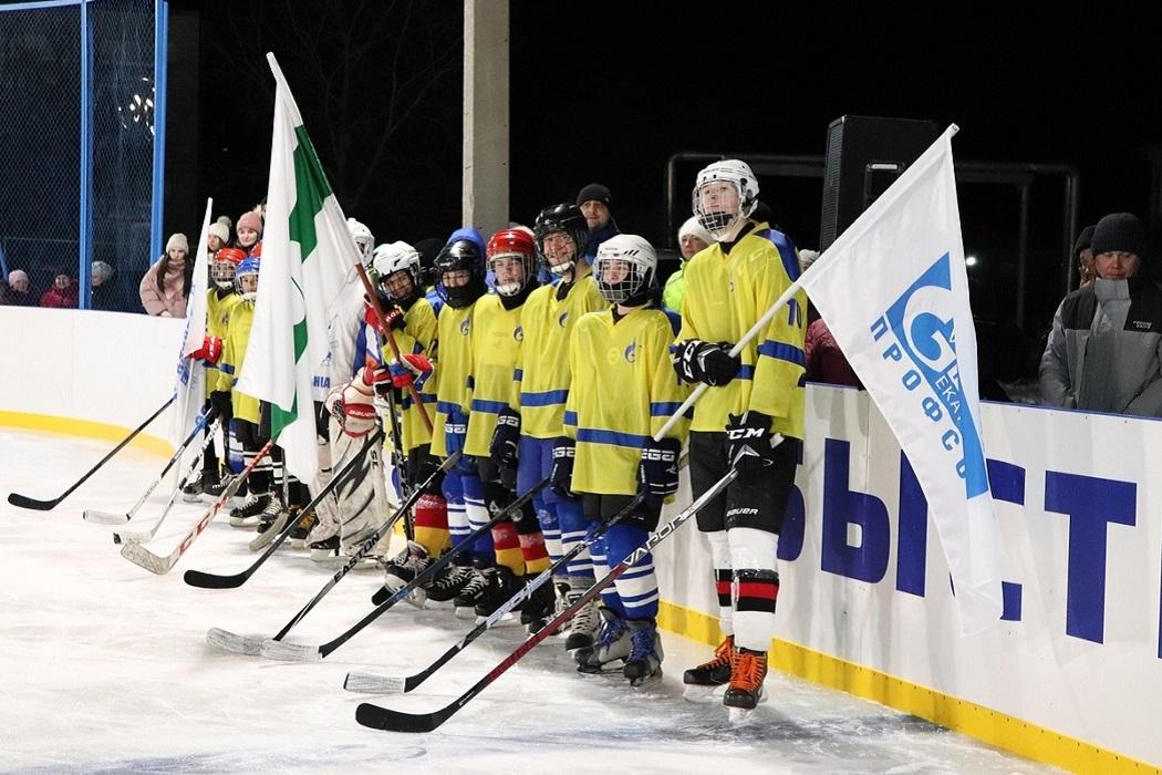 Хоккей + юная команда