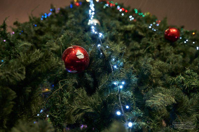 Новый Год ёлка иллюминация