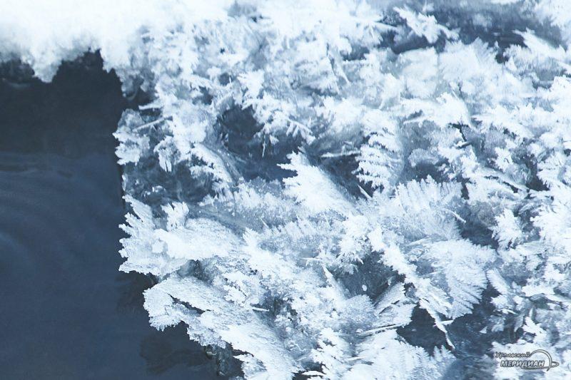 Зима снег мороз погода природа лед
