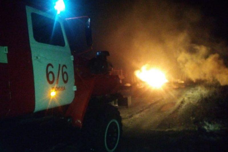 В Свердловской области взорвался газопровод под Серовом