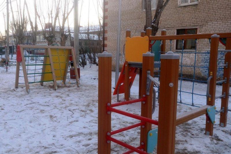 Еще одна детская площадка появилась в Тюмени