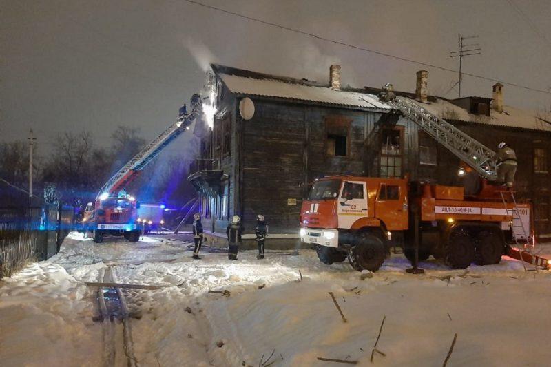 На Уралмаше снова горел деревянный жилой барак
