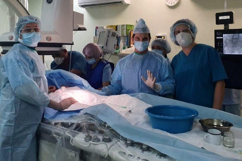 Свердловские врачи спасли беременную женщину с инсультом