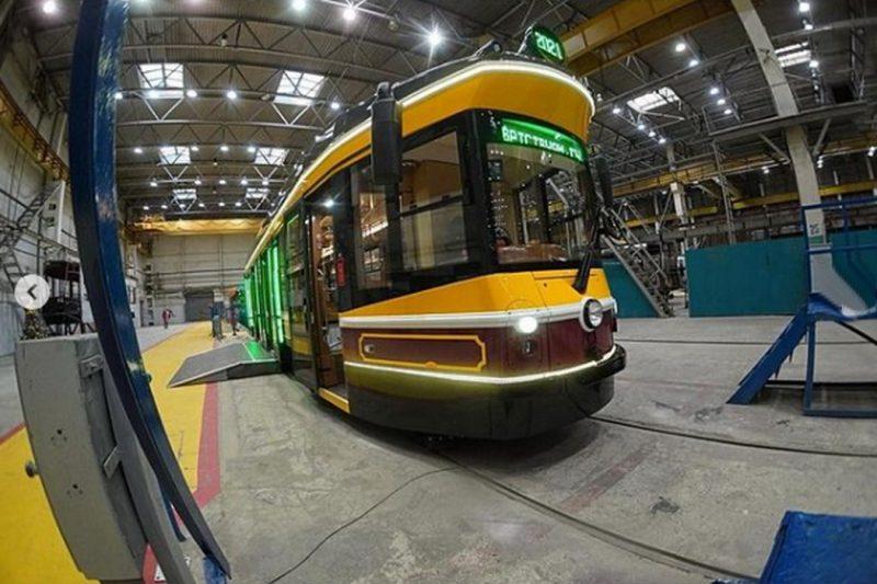 На улицах Екатеринбурга может появиться ретро-трамвай