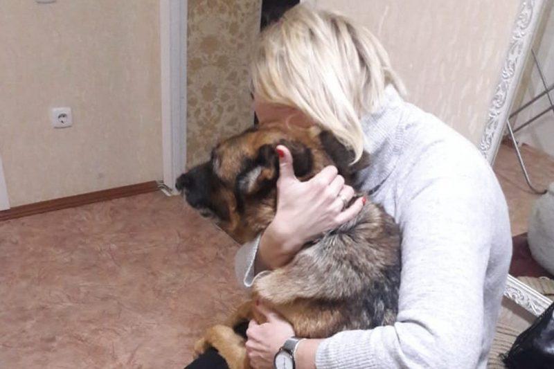 На Урале нашли дом для собаки-пенсионера ГУФСИН