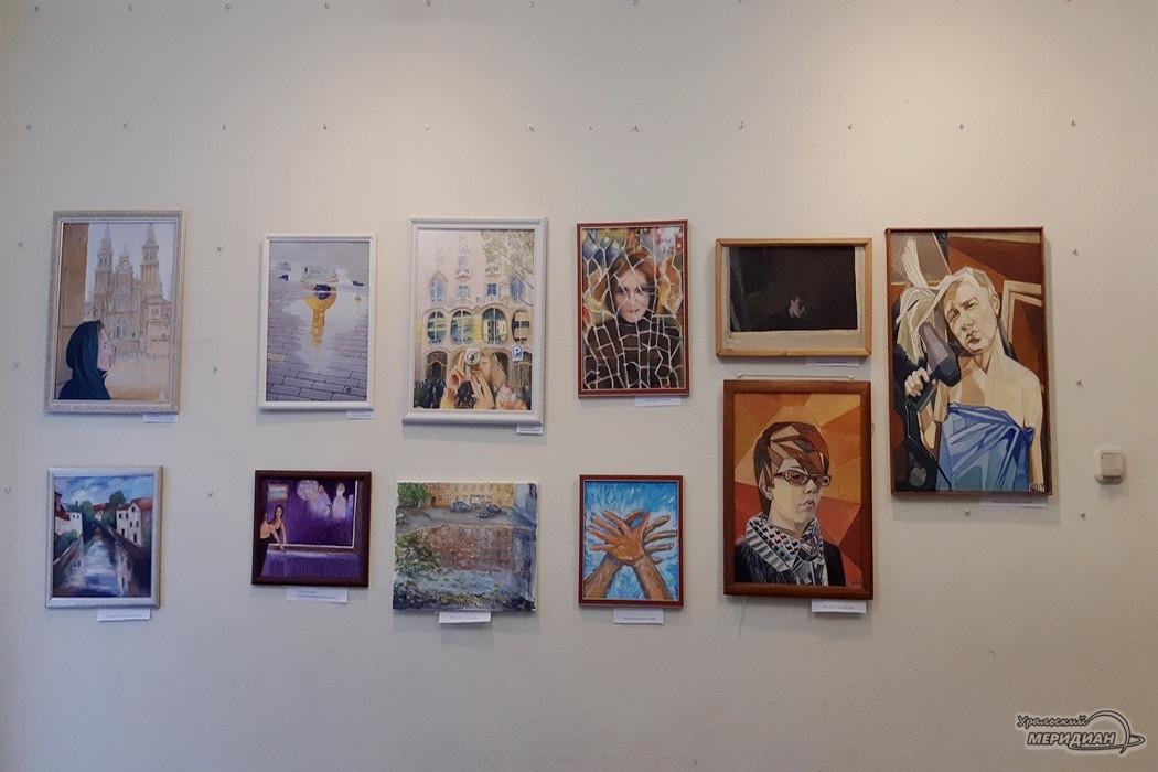 В Екатеринбурге открылась выставка картин «Отражение»