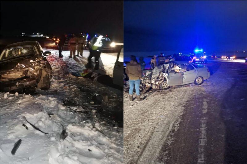 В ДТП под Магнитогорском погибли пассажиры, 4-летний ребенок в больнице