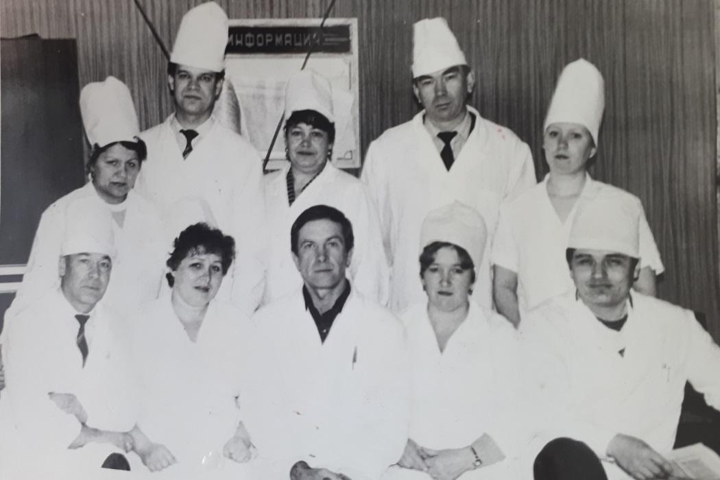 Хирургическое отделение Тюменского противотуберкулезного диспансера, 1987 г.