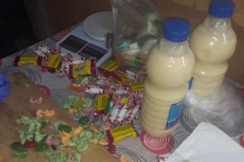 В уральскую колонию прислали 17 капсул мефедрона в жевательных конфетах