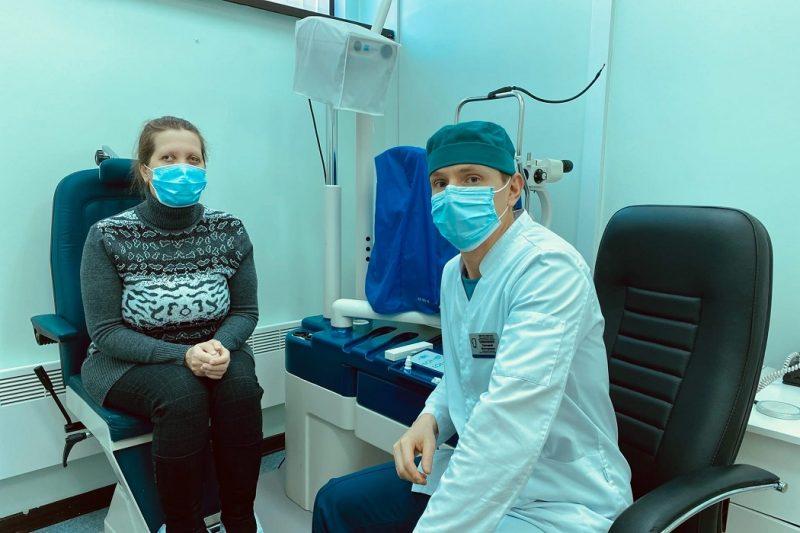 Офтальмологи ОКБ №1 вернули зрение полностью ослепшей пациентке 1