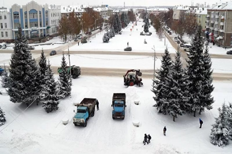 Шадринск зимой