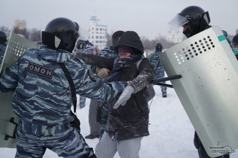 shestvie za navalnogo 23 yanvarya ekaterinburg  52