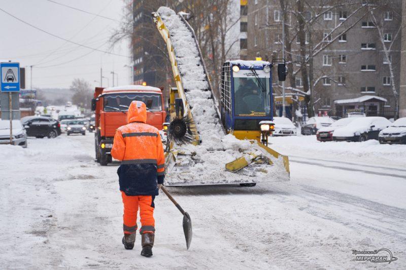 uborka ulits sneg spetstehnika vyvoz zhkh 25