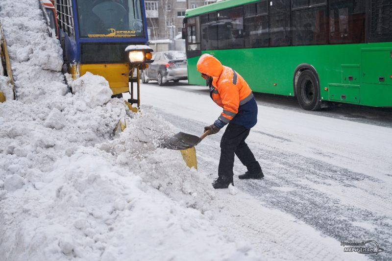 uborka ulits sneg spetstehnika vyvoz zhkh 27