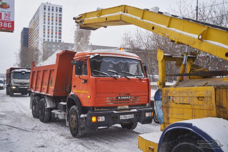 uborka ulits sneg spetstehnika vyvoz zhkh 32
