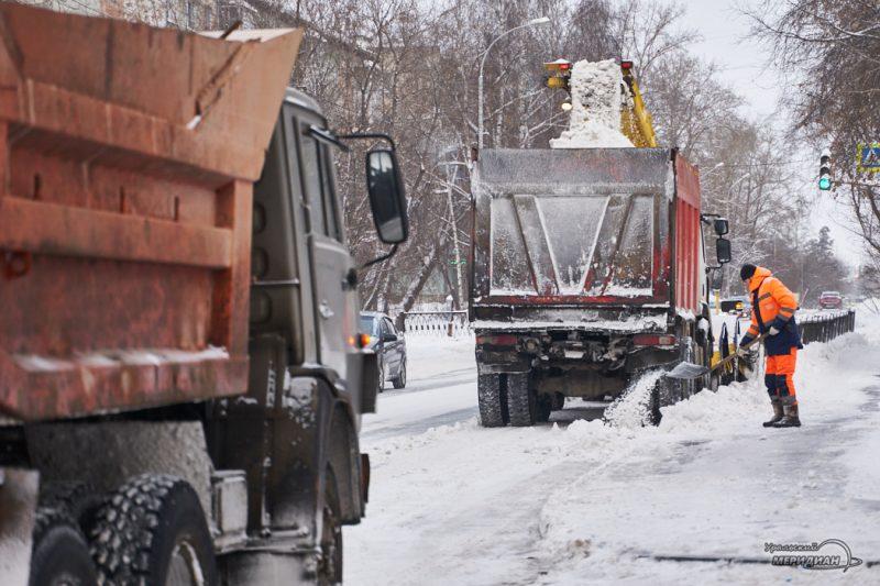 uborka ulits sneg spetstehnika vyvoz zhkh 38