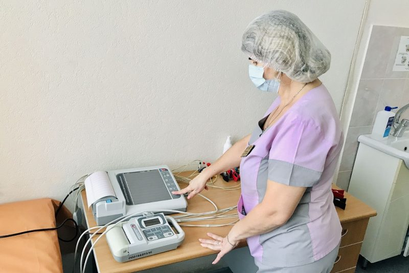 В детской поликлинике Тобольска появился новый электрокардиограф