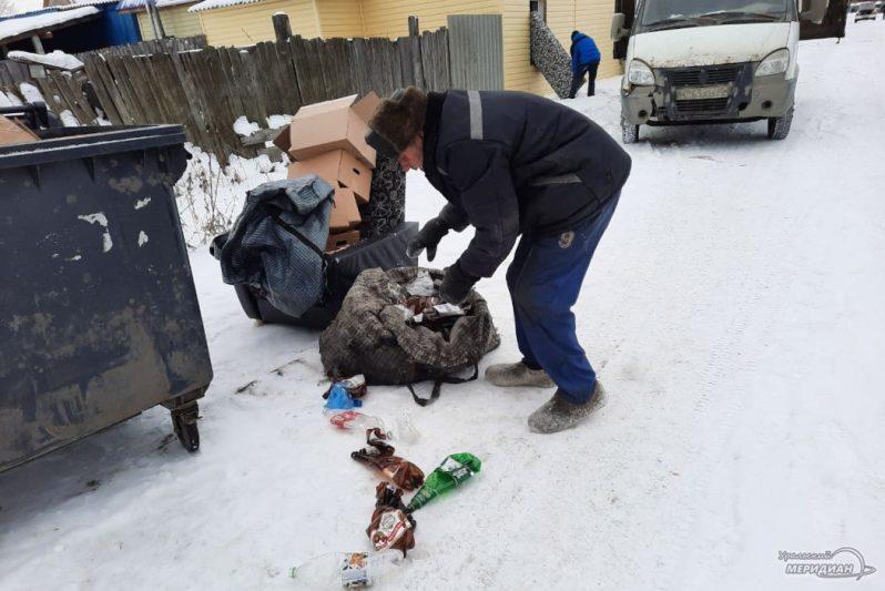 В Кургане беженец с Украины зарабатывает на жизнь, сдавая бутылки