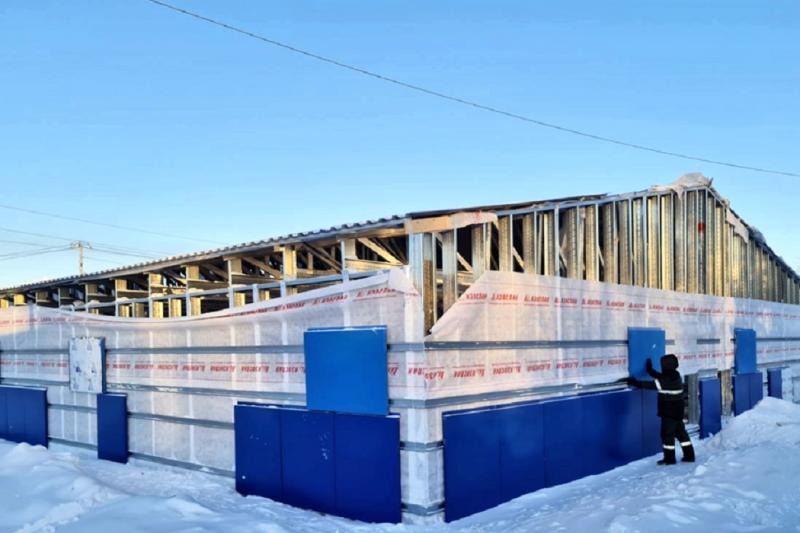 В Пуровском районе построят пять модульных спортивных комплексов