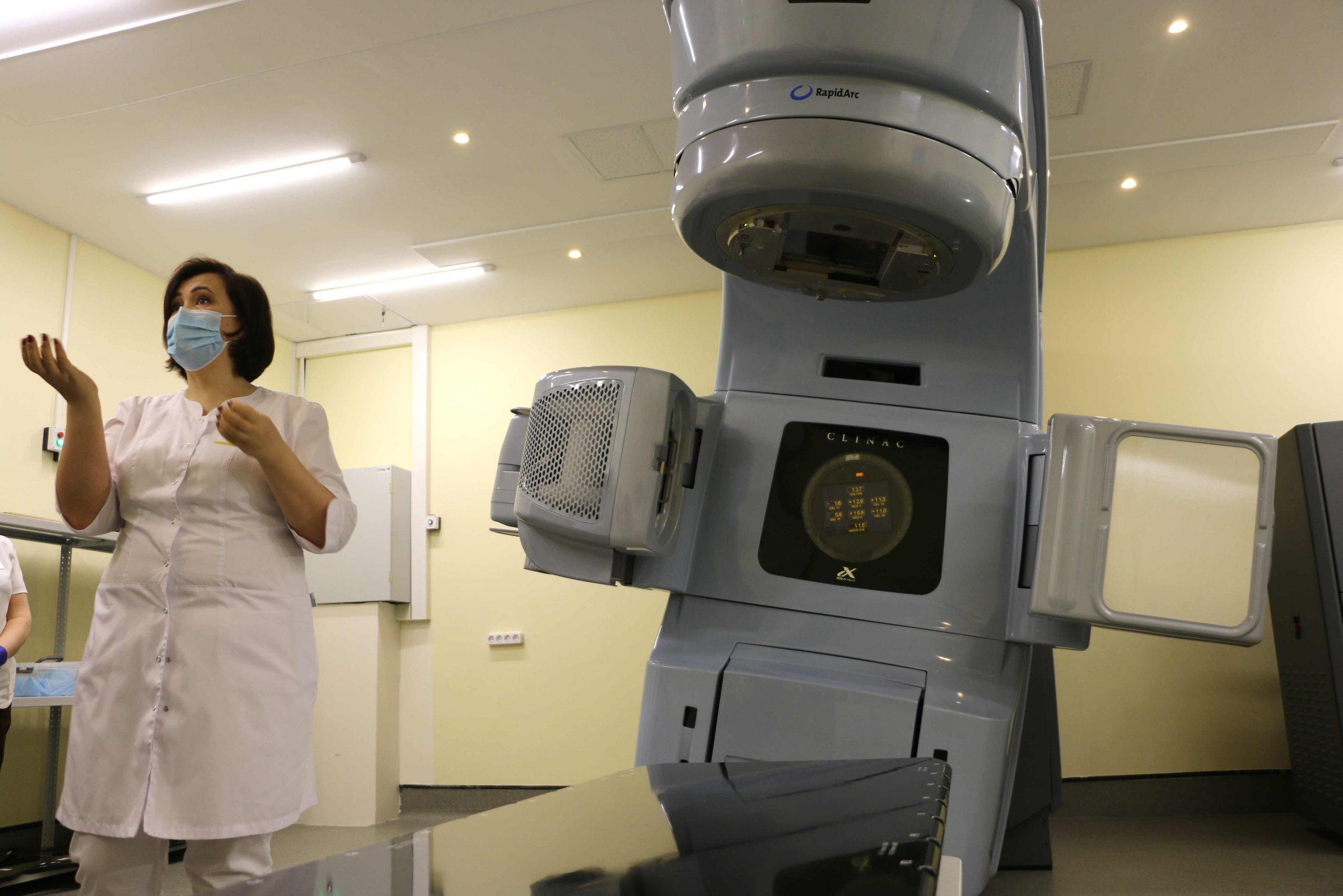 Аппарат для радиотерапии за 120 млн рублей появился в Медгороде Тюмени 1