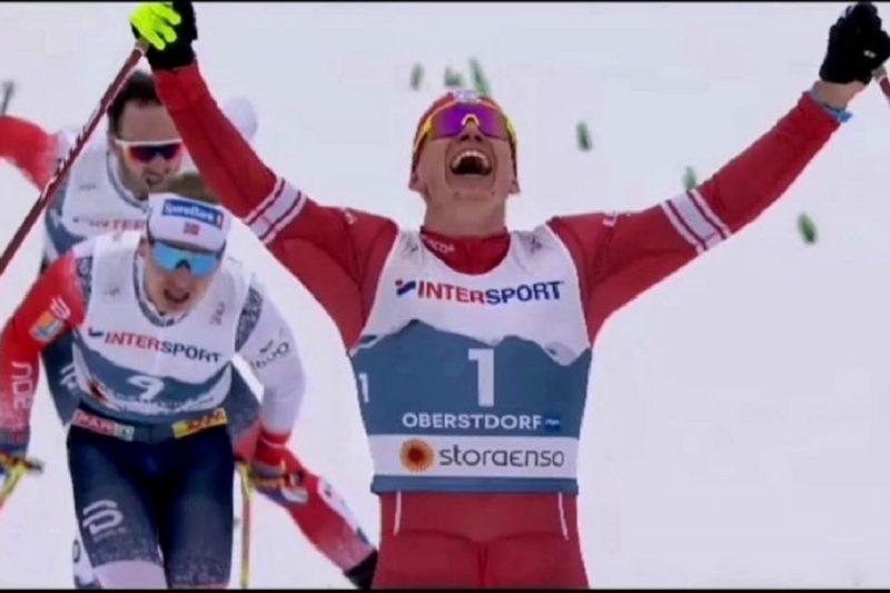 Большунов завоевал золото на Чемпионате мира по лыжным видам спорта