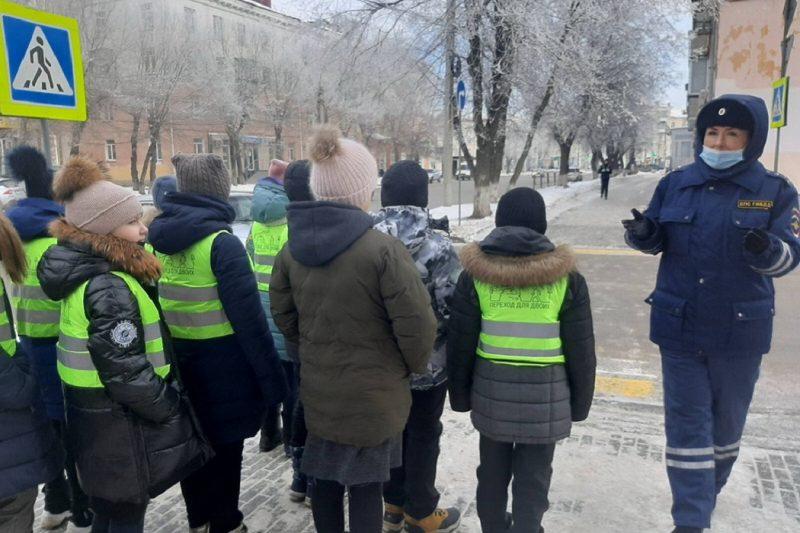 Дети + улица + дорога + ГИБДД
