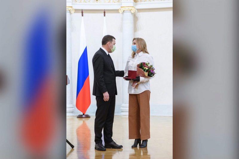 Губернатор Куйвашев посмертно наградил орденом хирурга Юрия Мансурова