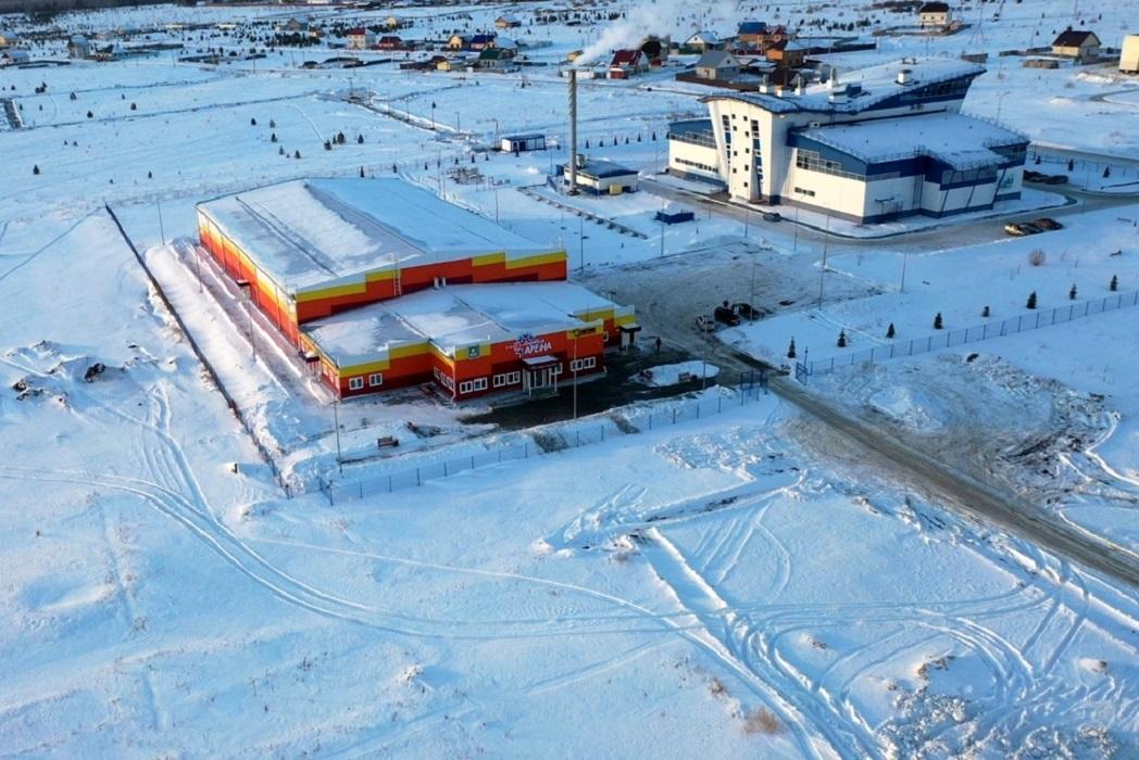 В Шадринске открыли новую ледовую арену стоимостью ₽200 млн