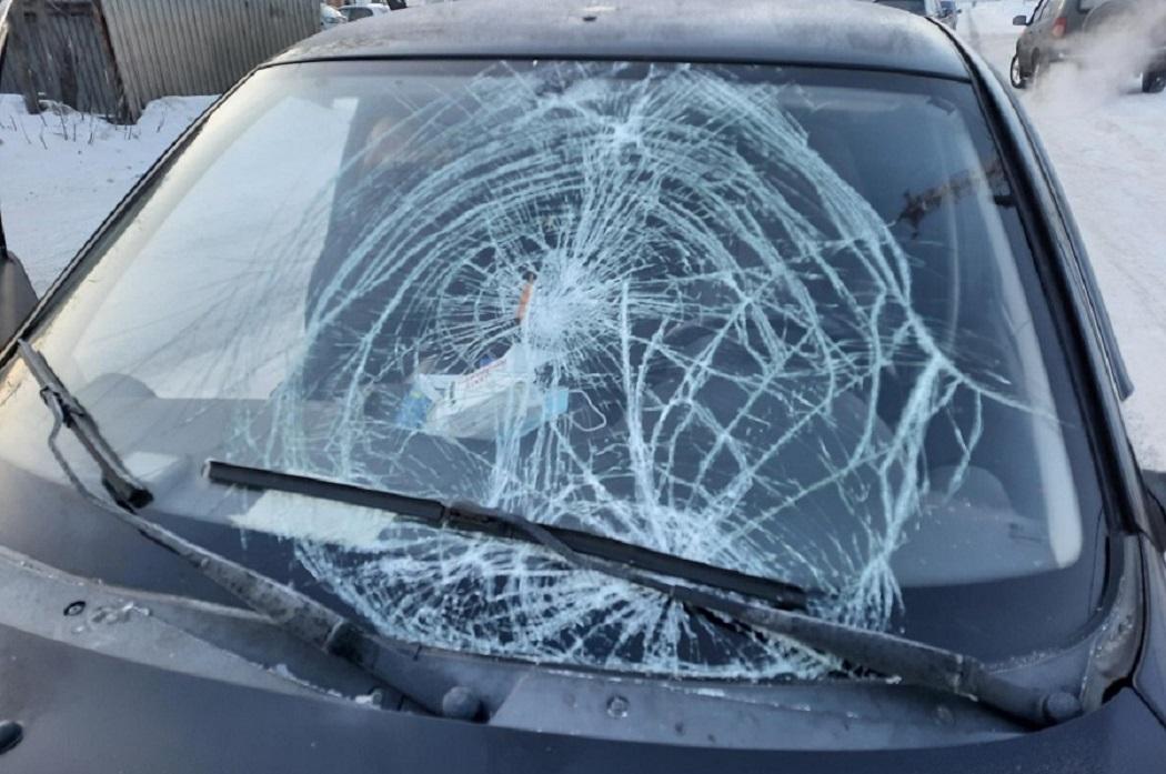 В Курганской области водитель сбил пешехода и уехал с места ДТП