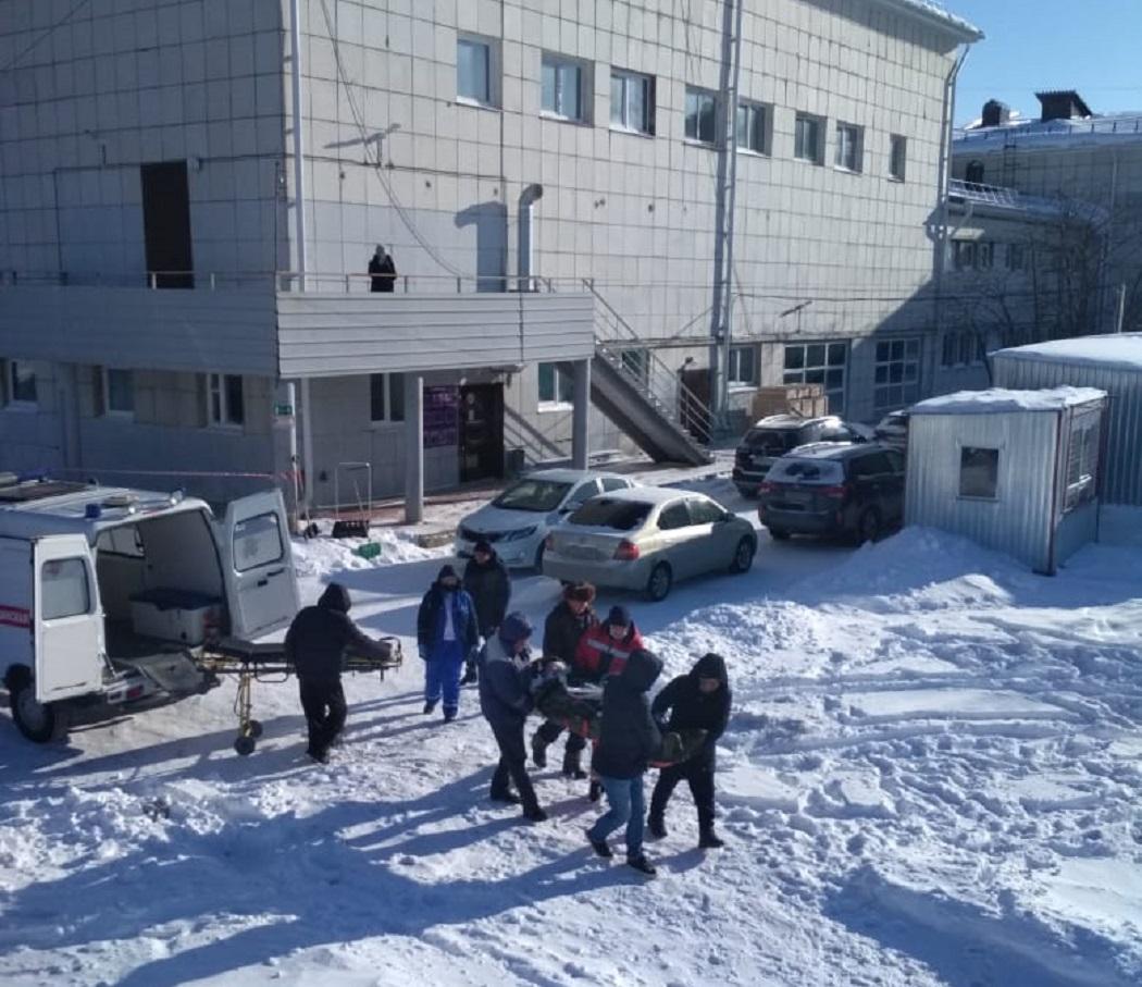 На Урале медицинский вертолёт прилетел на стадион за пациентом