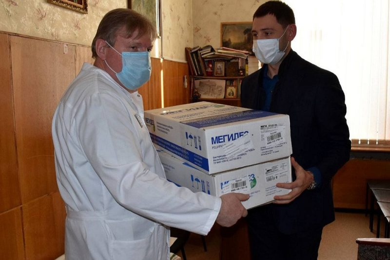 Курганской областной клинической больнице подарили два рециркулятора