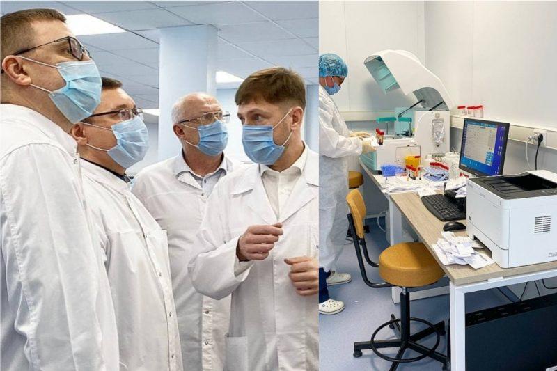 Полпред президента в УрФО посетил новую инфекционку в Челябинске