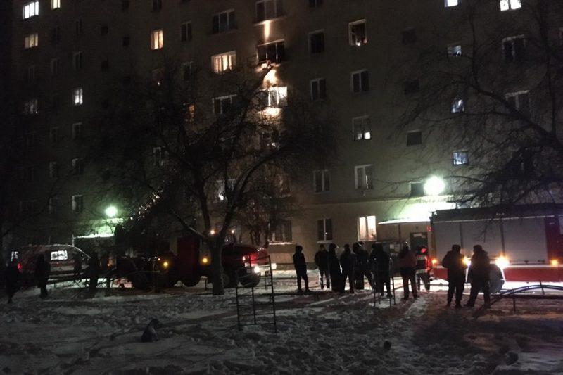 Пожарные спасли из огня 57 человек