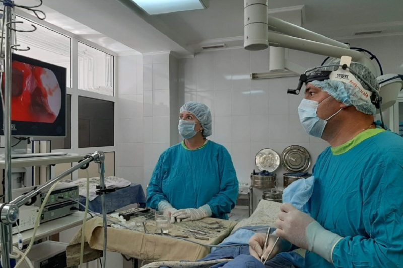 Тюменские врачи избавили пациентку от редкой опухоли в носу 1