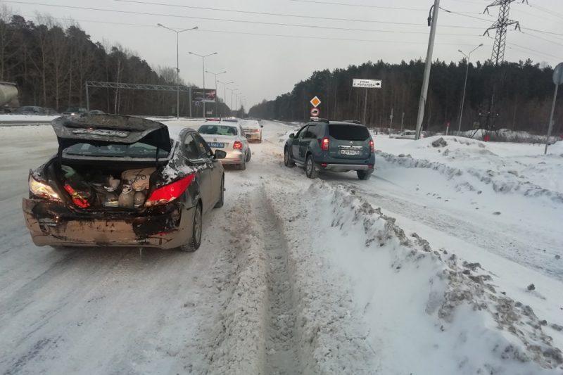 В Екатеринбурге в ДТП пострадала 7-летняя девочка