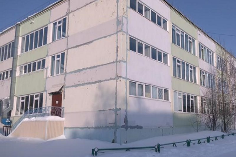в Ноябрьске школу советской постройки готовят к масштабной реконструкции