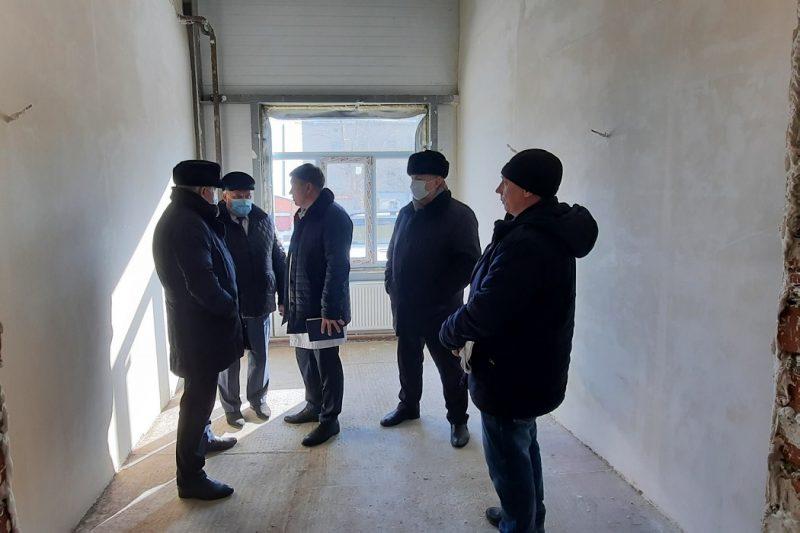 В Областной больнице №4 города Ишима выполнили 60% строительных работ