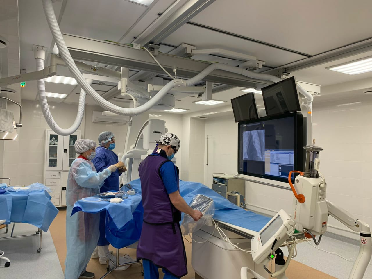В окружной больнице Сургута открылось отделение сосудистой хирургии