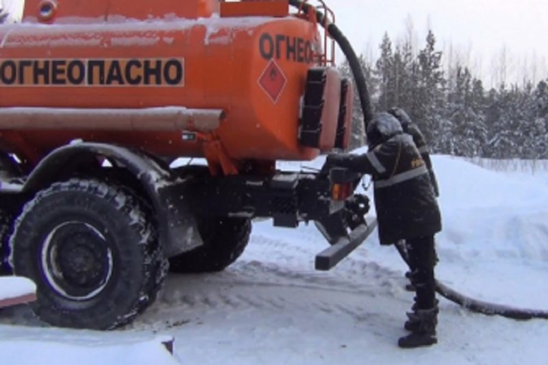 В Югре четверо мужчин похитили газ почти на миллион рублей
